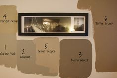 Behr Harvest Brown And Others Looked Too Green On The Walls She Said