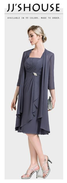 Chic chiffon dress. Both ways are great looks. #Motherofthebridedress