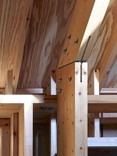 Long Sutton Studio / Cassion Castle Architects. Timber details.