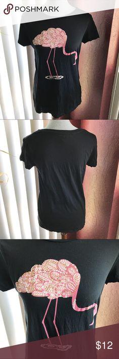 i Jeans by Buffalo Flamingo Tee Used. Good condition. i jeans by Buffalo Tops Tees - Short Sleeve