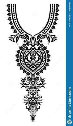 Embroidery Neck Designs, Lace Embroidery, Machine Embroidery, Father Birthday Quotes, Zentangle, Cute Tattoos For Women, Tattoo Flash Art, Pencil Art Drawings, Motif Floral