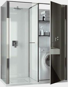 combinaison avec une jolie cabine de douche castorama