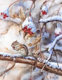 Frozen berries by Wee Lee