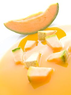 Low-Calorie Recipes: The Best Chilled Soups for Staying Slim - Shape Magazine - Cantaloupe Soup