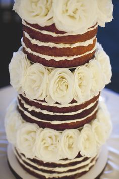 Naked Cake | photography by http://www.diamondcakephotography.ca