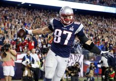 """New England Patriots TE Rob Gronkowski participated in Sunday's """"Buzz Off"""" for cancer fundraiser at Gillette Stadium."""