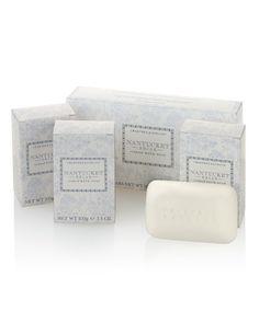 Crabtree & Evelyn® Nantucket Briar Soap Set 3 x 100g