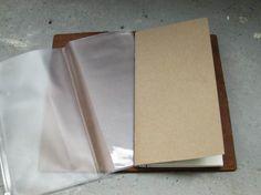 ZIPPERFILE for Midori Travelers Notebook.