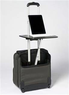 12 products that take hassle out of traveling is part of Mobile Office Organization - Necessity may be the mother of invention, but in travel, frustration makes a pretty good midwife Here are 12 products that aim to make life easier for travelers Car Office, Travel Office, Office Decor, Mobile Notary, Web Design Packages, Trolley Case, Mobile Office, Laptop Desk, Office Equipment