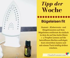 Tipp der Woche: Bügeleisen von Kleberesten reinigen | Claudia Trummer