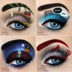 Augen-Make-up von Make-up-Künstlerin aus Israel Tal Peleg