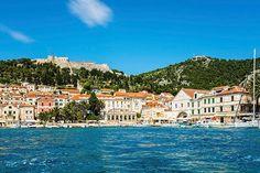 The beautiful port and resort town of #Hvar on the Croatian island of the same name... who would you take?   #VisitHvar #VisitCroatia #Croatia