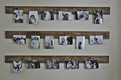 These are such fantastic ideas for hanging family pictures! I love a good family… These are such fantastic ideas for hanging family pictures! I love a good family… Decorate with pictures: IHome Gallery Wall. How toDIY Gallery Wall Hanging Family Pictures, Display Family Photos, Hanging Photos, Ideas For Hanging Pictures, Family Picture Walls, Photo Hanging, Porte Photo Mural, Images Murales, Cheap Wedding Gifts