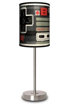 Nintendo geek lamp. #decor #sick