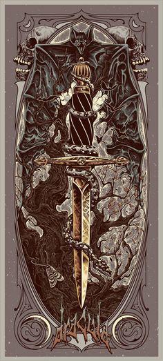 dracula by alex wezta , via Behance