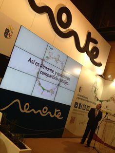 """Presentación del Spot """"Cómo es tu mundo"""" en el stand de #Almonte #Fitur2013 #RocíoJubilar"""