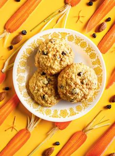 RICARDO | Chewy Carrot and Almond Cookies