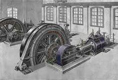 Stoommachines, Rond 1700 ontstond er een grotere vraag naar machines het waterrad was niet meer zo functioneel als eerst. Engeland had veel steenkoolmijnen maar die liepen voortdurend vol met water... er moest een oplossing komen, Engeland kwam daarom met de stoommachine om het water vervolgens uit de mijn te kunnen pompen