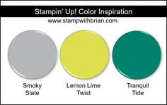 Stampin' Up! Color Inspiration - Daffodil Delight, Pool Party, Call Me Clover Stampin Up, Color Melon, Color Combinations, Color Schemes, Combination Colors, Paint Schemes, Pineapple Punch, Coordinating Colors, Matching Colors