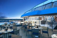 Aquavit Terrace, Viking Star – New Viking Star Introductory Photo Tour | Popular Cruising (Image Copyright © Viking Cruises)