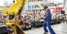 French Quarter Festivals, list of festivals and events, many are free