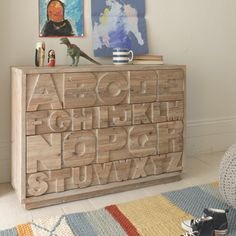 Cool Kids Chest of Drawers | Letter Head | Loaf