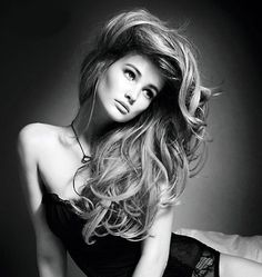 Blow dry hair upside down and use hairspray & a teasing comb to get this volume   Beauty High
