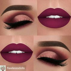 Prom Red Lipstick and Eye Make up Ideas Makeup Goals, Makeup Inspo, Makeup Tips, Hair Makeup, Makeup Ideas, Makeup Products, Makeup Trends, Makeup Hacks, Beauty Products