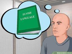 3 Ways to Write in Elvish