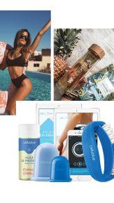 Story réalisée avec Canva Application Indispensable, Voss Bottle, Water Bottle, Applications, Drinks, Tips, Lifestyle, Blog, Software