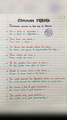 Essay Writing Skills, English Writing Skills, Writing Words, English Lessons, English Learning Spoken, Teaching English Grammar, English Language Learning, English Phrases, Learn English Words