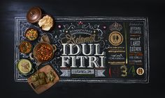 This is an eid celebration greeting project for rasamasa.com –an Indonesian food portal–