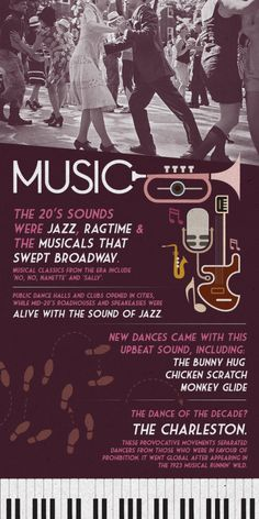 Enjoy some of the roaring 20's hit songs with a live performance!