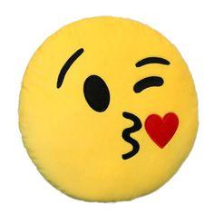 Home Smiley Face Pillow Stuffed Toy Soft Plush For Sofa Car – myshoponline.com