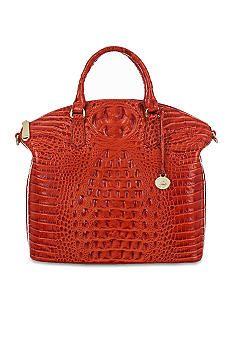 92f35c0ffc8b Brahmin Melbourne Collection Large Duxbury Satchel - Belk.com Brahmin  Handbags