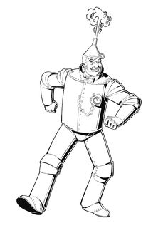 Scarecrow from Wizard of Oz kids printable coloring pages  Fun