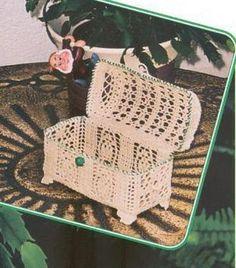 Arcón a crochet Crochet Bowl, Thread Crochet, Filet Crochet, Crochet Motif, Crochet Doilies, Crochet Flowers, Crochet Lace, Crochet Decoration, Crochet Home Decor
