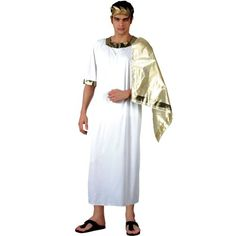 Ancient Greek – Adult Costume Men : MEDIUM   Your #1 Source for Toys and Games