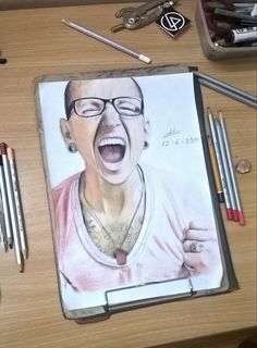 Chester Charles Bennington from Linkin Park