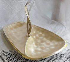 Lewbury Satinglo 'silverware' 1950s serving plate