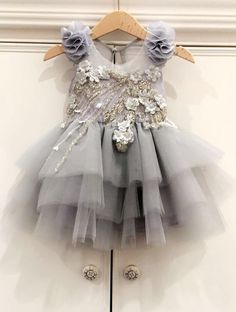 """Our new """"My Eternal Love"""" baby dress is so stunning 🌸 available in many other… - Babykleidung Gowns For Girls, Little Dresses, Little Girl Dresses, Flower Girl Dresses, Kid Dresses, Toddler Dress, Baby Dress, Baby Tutu Dresses, Robes Tutu"""