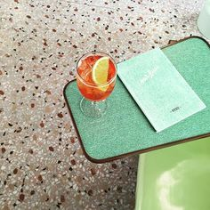 Wes Anderson–designed Bar Luce in Milan with terrazzo floors