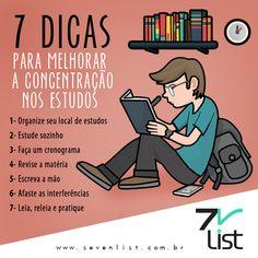 Organize seus estudos: 7 Dicas