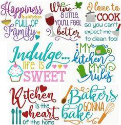 Kitchen Sayings Excl. II