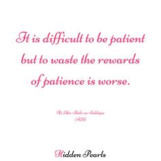 We go through days where patience is not by our side. It is easier to get frustrated and to be angry than to keep a calm mind and me patient. But we forget that being patient has its own awards in the eyes of Allah.  #quotes #islamicquotes #muslimquotes #inspirationalquotes #lifefacts #facts #reality #islam #Allah