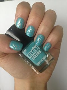 Nails by vb_nails: @Thenailsshow here's something ...