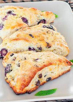 These Blueberry and Chocolate Chip Scones are sure to please anyone.