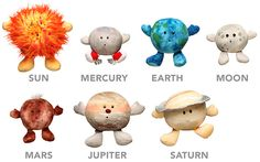 Plush Celestial Buddies - I want the plushie Moon!!!