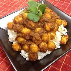 Vegetable Korma... I used cottage cheese instead of heavy cream, and added 8 oz of curry chicken and served with white rice. Made this for Paul and he liked it. It makes A LOT of food, and he ate half the recipe plus 2 cups rice.. Lol