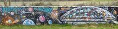 Street art au bord de l'aqueduc à Villabé - Fresque en couleur 20160324106